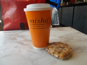 Misha's Coffee and Macaroon Thingy
