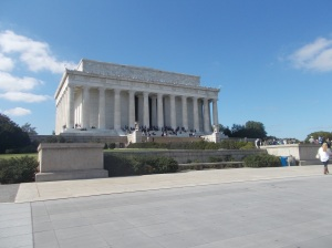 Defiant Citizens Storm Lincoln Memorial