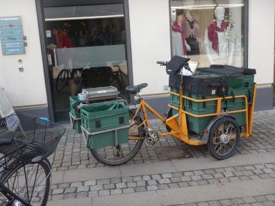 Postal Bike in Roskilde Denmark
