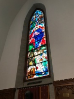 Stain glass in the Masonic Memorial